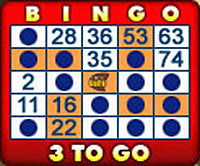 bingo cafe 75 ball bingo card