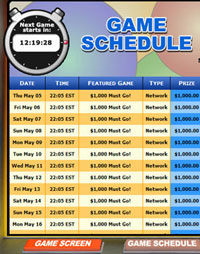 bingo cafe mega bingo network bingo game schedule