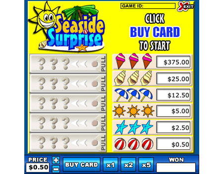 bingo cafe seaside surprise online instant win game
