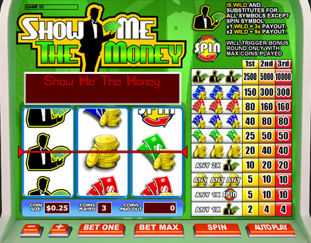 Show Me the Money Slots - Play Show Me The Money Pokie