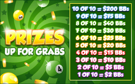 bingo cafe promo pot of gold prizes